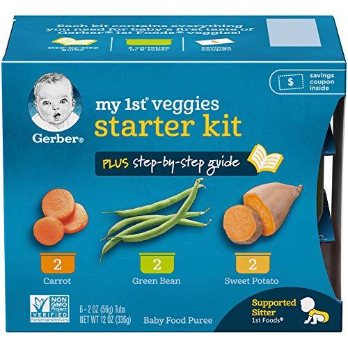 Gerber Purees My 1st Fruits (Veggie Starter Kit, Pack - 2)