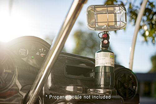 Portable Golf Cart Propane Heater With Cup Holder
