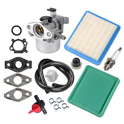 Panari 799866 Carburetor + Tune Up Kit Air Filter for 790845 799871 796707 794304 491588S 491435S
