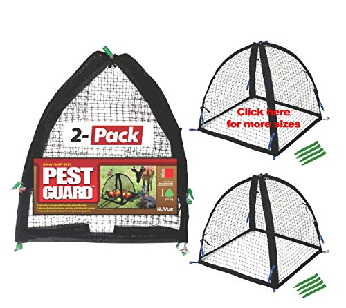 Nuvue Products 32100, 22' x 22' x 22', 2 Pack Pest Guard Cover, Black