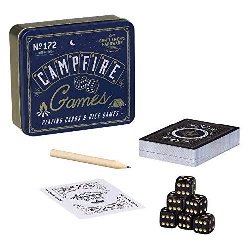Gentlemen's Hardware Campfire Games Set - Instructions for 3 Individual Games