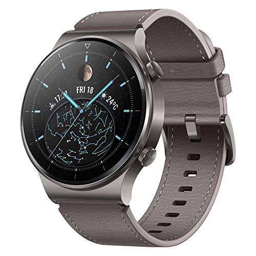 HUAWEI Watch GT 2 Pro Smart Watch Sport GPS 14 Days Battery Life Activity Tracker, Waterproof Heart Rate Tracker, Blood Oxygen Monitor Bluetooth SmartWatch for Android iPhone, Nebula Gray