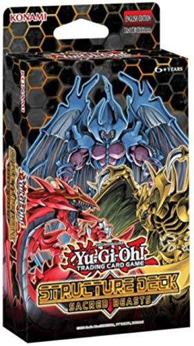 Yu-Gi-Oh! Trading Cards: Sacred Beasts Structure Deck, Multicolor