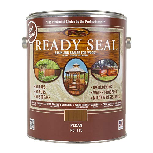 Ready Seal Pecan 115 1-Gallon Can Exterior Wood Stain and Sealer