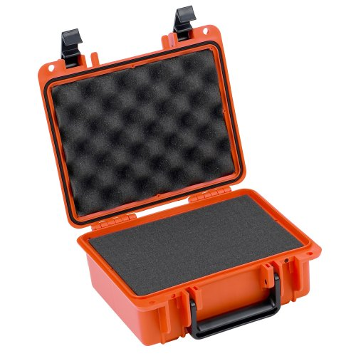 Seahorse 300 Protective Case with Foam, Neon Orange, Small