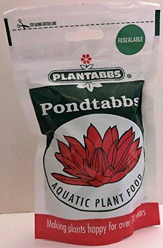 Plantabbs Pondtabbs Aquatic Plant Food 10-14-8 Fertilizer Tablets, 60 Count Bag (1)