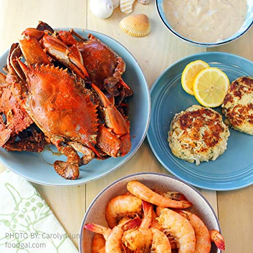 Cameron's Seafood Maryland Blue Crabs Crab Cakes and Spiced Shrimp Sampler