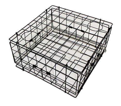 KUFA Vinyl coated Crab Trap (24'x24'x12'H) S60