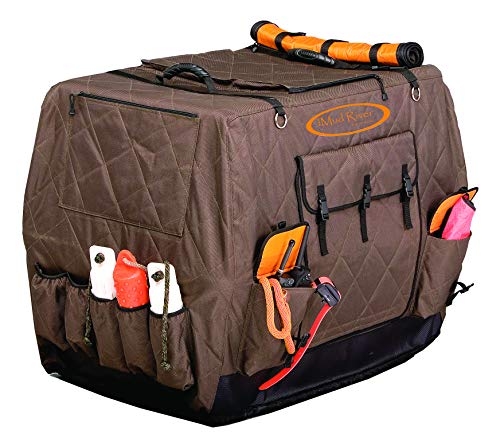 Mud River Dixie Kennel Cover, Brown, Large Standard