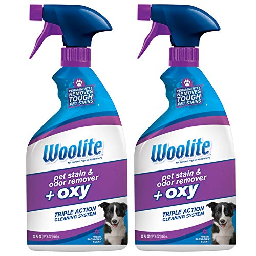 Woolite Pet Stain and Odor Remover Plus Oxy, 22oz (Pack of 2), 2834