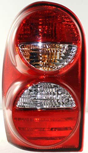 Tail Light Assembly Compatible with 2005-2007 Jeep Liberty Driver Side