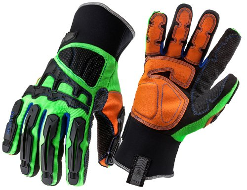 Ergodyne ProFlex 925F(x) WP Thermal Waterproof Dorsal Impact-Reducing Gloves, XX-Large