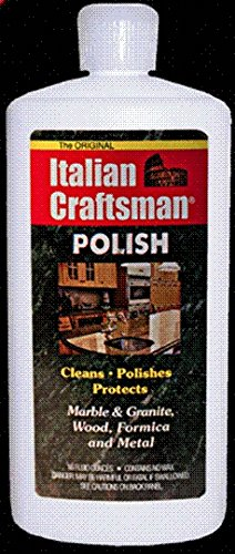 Italian Craftsman Poilish Marble and Granite Polish 16 oz, Pack of 4