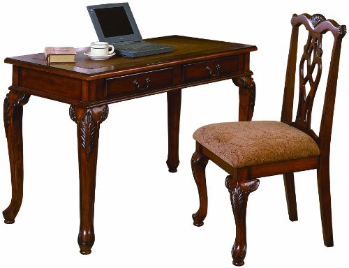 Crown Mark Fairfax Home office Desk/Chair Set