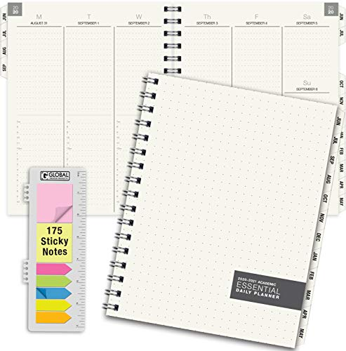 Essential 7x9 Monthly & Weekly 2020-2021 Planner - (7x9 - June 2020 Through July 2021)