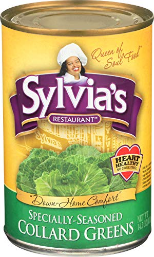 Sylvia's Collard Greens, 14.5 Ounce Packages (Pack of 12)
