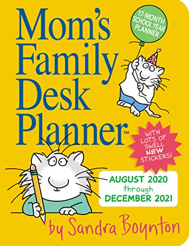 Mom's Family Desk Planner 2021