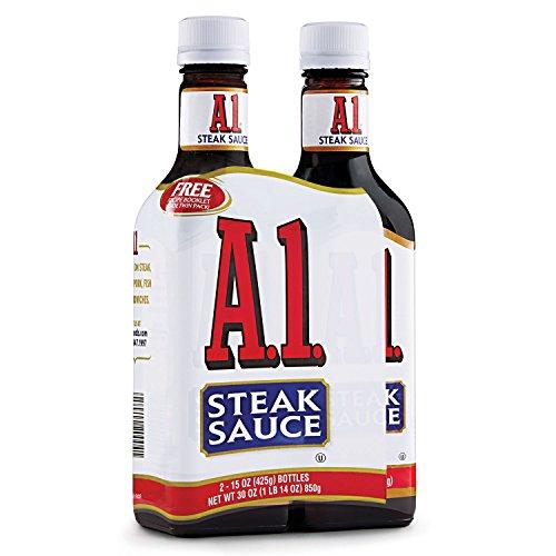 A-1 Steak Sauce (15 oz. bottle, 2 ct.)