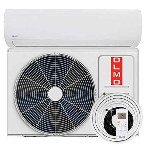 OLMO Alpic Ductless Mini Split Air Conditioner 12,000 BTU 115v/60hz 16 SEER with 16' installation kit'