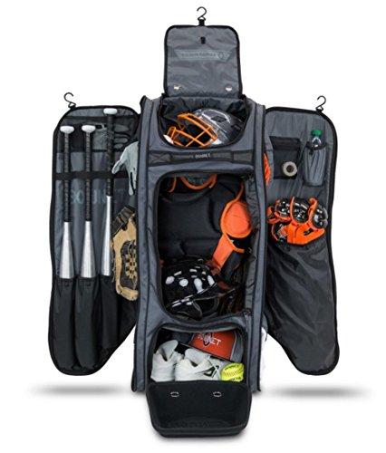 Bownet Commander Bag, Black, 38inch H x 17 inch W x 12 inch D