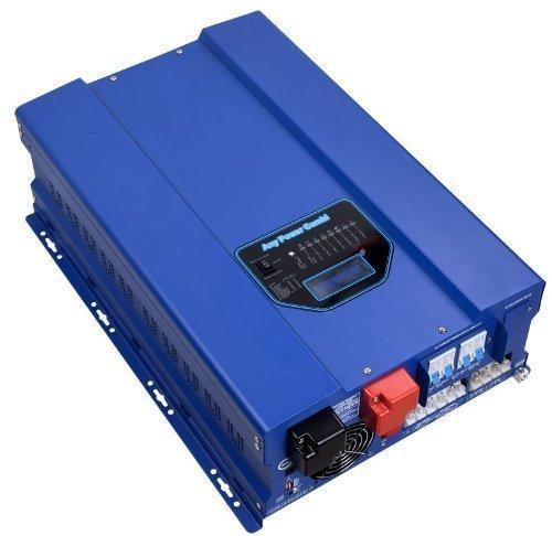 SUNGOLDPOWER 12000W Peak 36000W Split Phase Pure Sine Wave Power Inverter,Low Frequency Inverter DC 48V AC Input 240V Solar Wind Power Inverters AC Output 120V 240V Converter