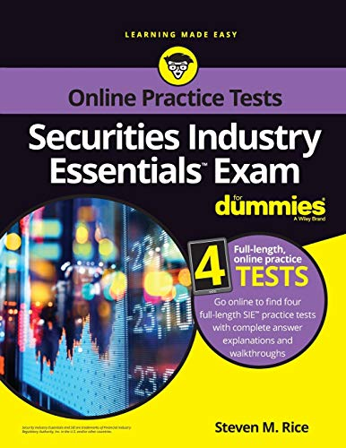 Securities Industry Essentials Exam For Dummies with Online Practice (For Dummies (Career/Education))