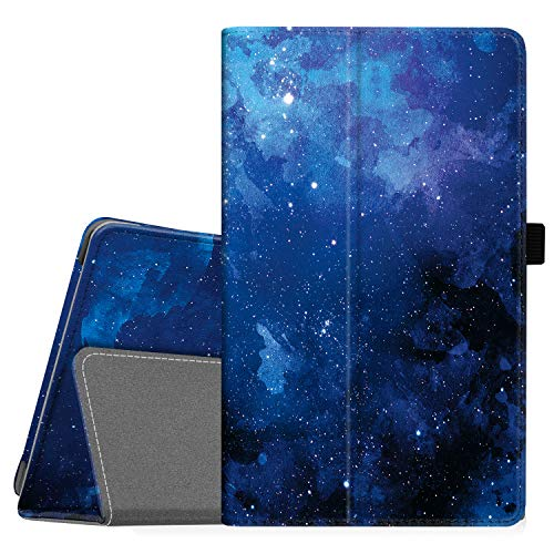 Famavala Folio Case Cover Compatible with 8' Fire HD 8 Tablet [8th / 7th / 6th Generation 2018/2017 / 2016 Release ] (BlueSky)