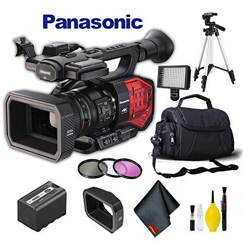 Panasonic AG-DVX200 4K Camcorder with Four Thirds Sensor and Integrated Zoom Lens Plus Bundle