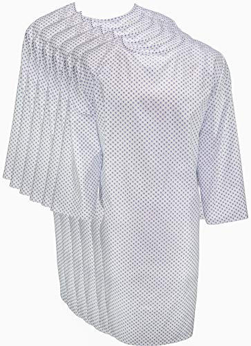 Profound Care Hospital Gown 6 Pack - Patient Gowns Fits Up to 2XL