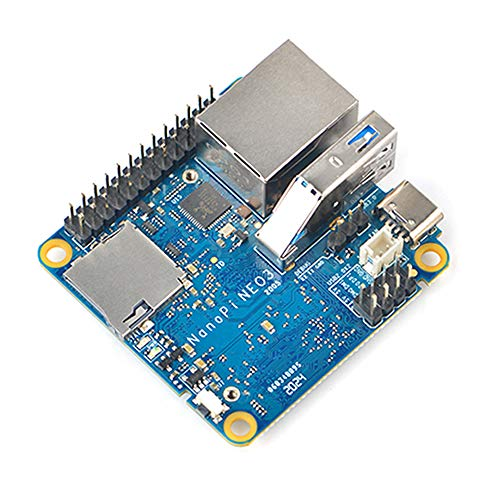 FriendlyElec NanoPi NEO3 Rockchip RK3288 Tiny ARM Single Board Computer with 1GB RAM USB3.0,Gbps Ethernet and Unique MAC Address