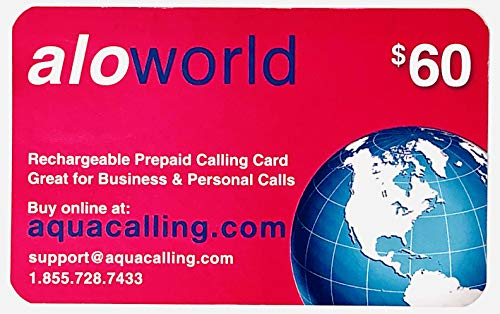 $60 Prepaid Phone Card - Domestic & International Calling Cards with No Expiration. No Pay Phone Fee by Using 1.855.728.7433.