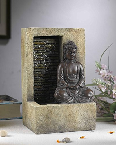 Jeco Inc. FCT110 Buddha Water Tabletop Fountain