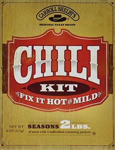 Carroll Shelbys Original Texas Chili Kit, 4 oz (Pack of 2)