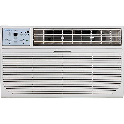 Keystone Energy Star 12,000 BTU 115V Follow Me LCD Remote Control Through-The-Wall Air Conditioner