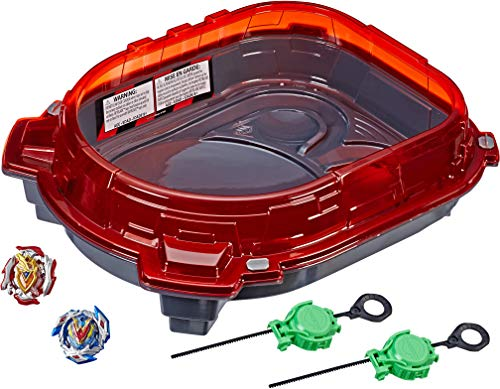 BEYBLADE Burst Turbo Slingshock Rail Rush Battle Set Game -- Complete Set Burst Beystadium, Battling Tops, and Launchers (Amazon Exclusive)