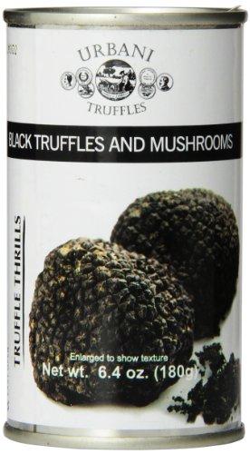 Urbani Truffles Truffle Thrills, Black Truffles and Mushrooms, 6.4 Ounce Can