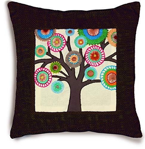 DIMENSIONS Retro Tree Crewel Embroidery Kit, 9.5'' x 9.5''