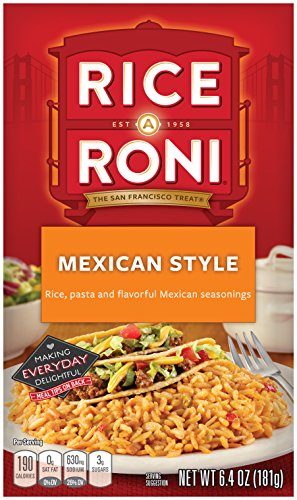 Rice-A-Roni Mexican Style 6.4 OZ (12 Pack)