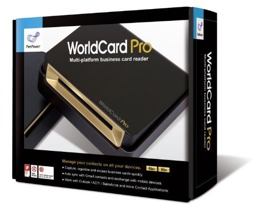 WorldCard Pro Business Card Scanner (Newest Version), Outlook Support, Multiple languages.