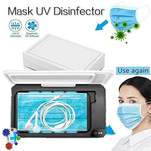 LWX UV Sterilizer Box Multi-Function Mobile Phone Jewelry Cleaning Ultraviolet Disinfection Machine Mask Sterilization Box