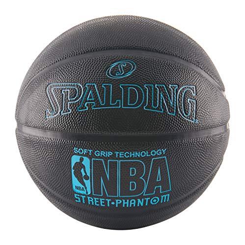 Spalding NBA Street Phantom Basketball 29.5 Inch Neon Blue/Black