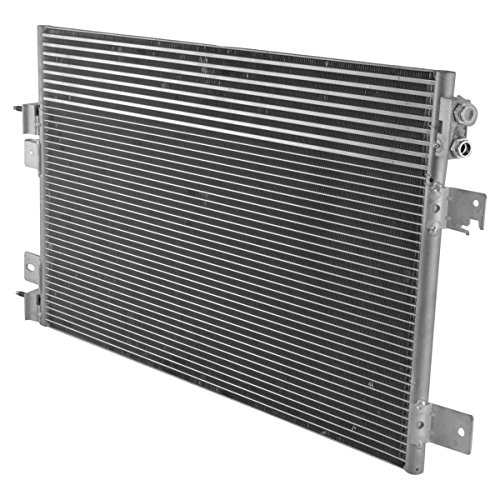 AC Condenser A/C Air Conditioning with Trans Oil Cooler for Chrysler Dodge Jeep