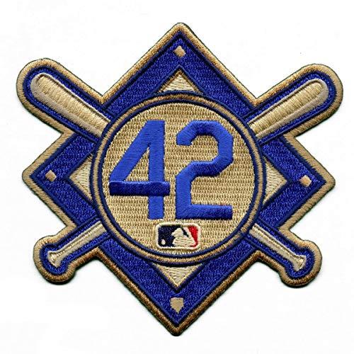 Emblem Source Jackie Robinson #42 MLB Licensed Primary Logo Sleeve Patch