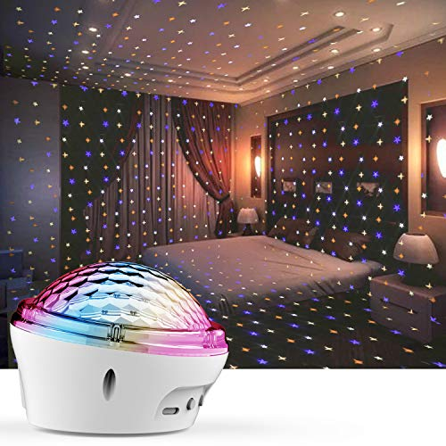 Star Projector Night Light, LED Lights for Bedroom Room with 4 Modes and Timer Setting, [2020 New Launch Model] Best Gift Choice for Baby Children Indoor