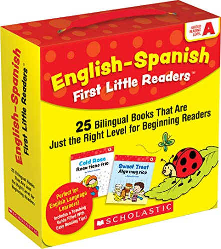 English-Spanish First Little Readers: Guided Reading Level A (Parent Pack): 25 Bilingual Books That are Just the Right Level for Beginning Readers