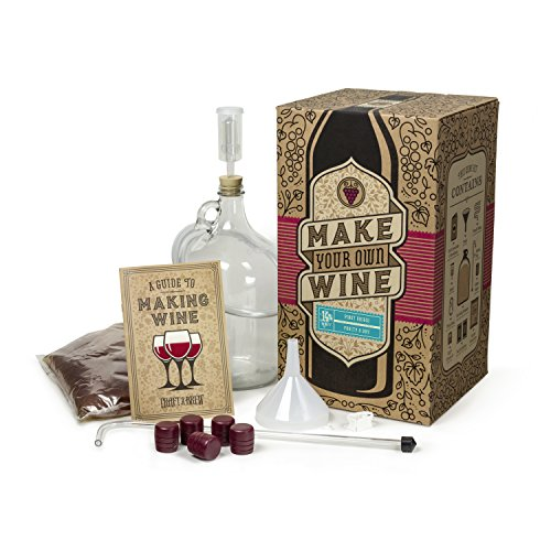 Craft a Brew Home Pinot Grigio Making Kit  Easy Beginners with Ingredients and Supplies  Ultimate Wine Brewing