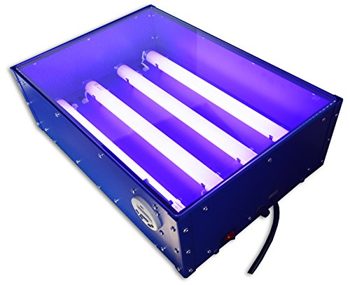 110V 60W Electric Screen Printing & Hot Stamping Exposure Unit 1812inch Exposure Size Brand New