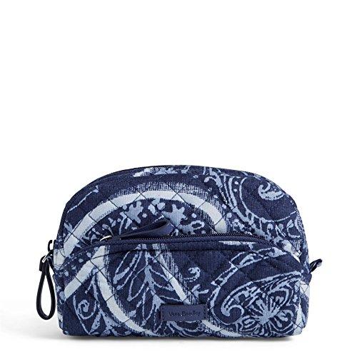 Vera Bradley Women's Signature Cotton Mini Cosmetic Makeup Bag, Indio, One Size