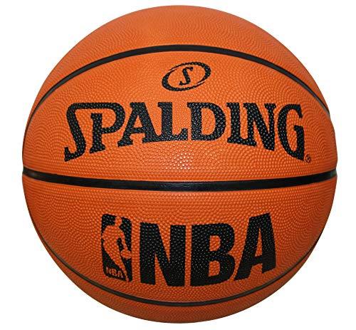 Spalding NBA Rubber Outdoor Basketball Fun Team Ball Orange - Size 7