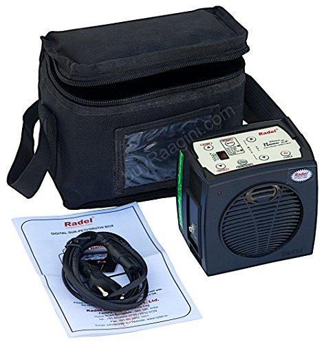 Electronic Shruti Box - RADEL Dhruva Nano Zx Shruti Box, Digital Shruthi Box, Surpeti, Shruti Box Sapmer, Bag, Instruction Manual, Power Cord (US-PDI-AFJ)